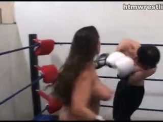 vrouwelijke dominantie, femdom, vechten