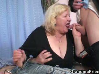 古い, 3some, おばあちゃん