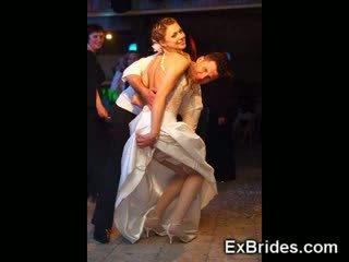 Amateur bruid vriendin gf voyeur onder het rokje gf vrouw lingerie huwelijk model publiek echt reet kniekousen nylon naakt