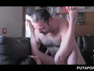 Fine Ass Tramp Showing Dick Humping Skills