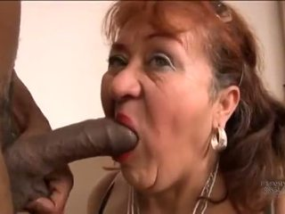 Picked Up Old Spanish Grandma For Screwing Pleasures