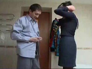러시아의 성숙한 거칠게 섹스