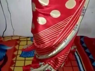 Атласна шовкова saree покоївка, безкоштовно індійська порно відео 33