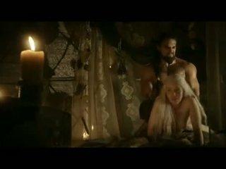 Emilia clarke doggy stijl seks scène