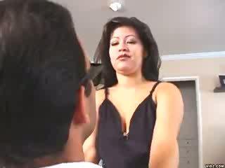Ūkanotas mendez loves straddling didelis sultingas cocks