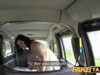 Fake taxi spāņi dāma returns par taxi jāšanās: bezmaksas porno 7a