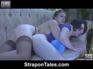 ชม strapon tales ภาพยนตร์ ด้วย ยิ่งใหญ่ ดาราหนังโป๊ martha, randolph, owen
