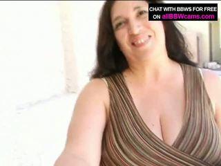 Open Pussy Bbw Gets Cum On Her Fat Tit...