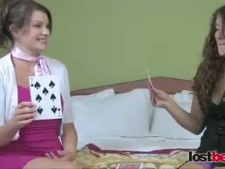 Strip High Card with Kala and Elizabeth (HD)