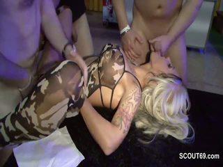 Vācieši pornozvaigzne seksuālā cora uz gangbang ar 40 vecs men daļa 1