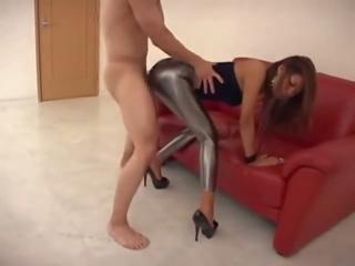 الملبس أنثى العاري ذكر طماق اللسان و اللعنة, حر اللسان اللعنة الاباحية فيديو
