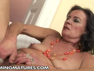 Hot Grandma Masturbating And Have Fisted Fat