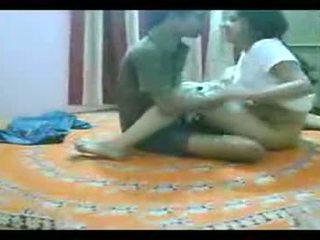 Mumbai कज़िन sister भाई गड़बड़ पर घर पर बिस्तर