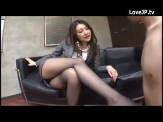 brunette, japanse, broodmager