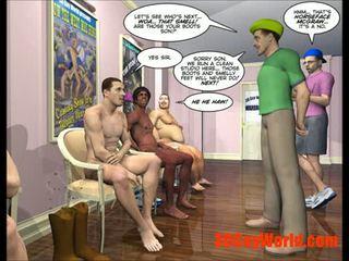 art, gay, cartoon