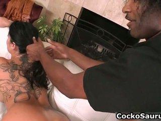 Láska sání černý cocks trubky