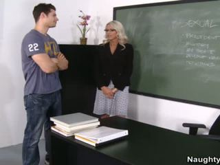 Emma Starr Teaches Student About Fucking
