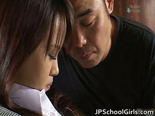 Haruka Aida Pretty Asian Schoolgirl