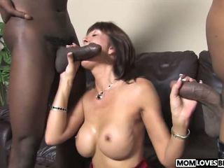 Son Witness how Mom Desi Foxx Takes Two Bbcs: Free Porn 9c