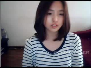 可爱 青少年 亚洲人 摄像头