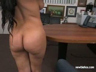 si rambut cokelat, big boobs