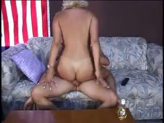 Blond amatuer amerikaans milf