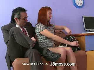 Teacher fucks Russian student