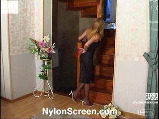 Alice And Nathan Excellent Pantyhose Clip