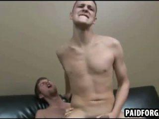 Ці two сексуальна amateru studs are having анал