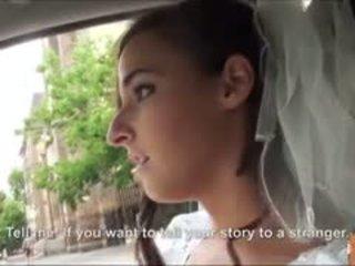 Karstās līgava fucks pēc failed kāzas