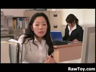 japansk, kontor, japan