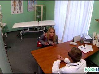 Fake doctor in fake hospital