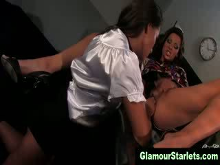 Dirty fetish clothed european lesbians