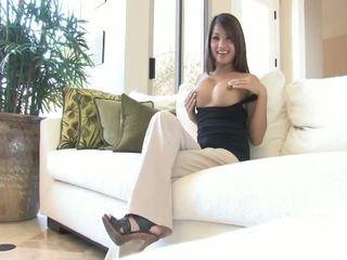 brunette mov, nice vibrator porno, more naked scene