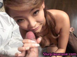 Rui horie 美しい アジアの モデル gives irrumation