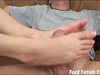 Would you let me give you a footjob
