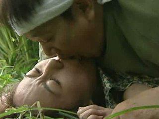 Ruw openlucht seks buiten tokyo video-