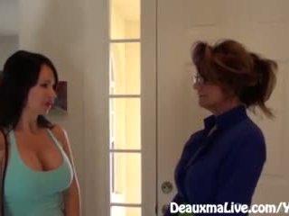 मिल्फ deauxma scissors angie को बेचना उसकी शाला!