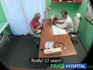 Fakehospital тънък мадама wants секс с лекар