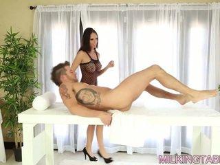 big boobs, massage, russian