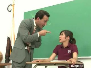 student, adorable, spanked