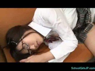 תלמידת בית ספר ב שוחה שמלה licked על ידי שלה מורה ב teh lo