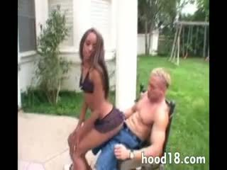 Hot black girls tight pussy fucked hard