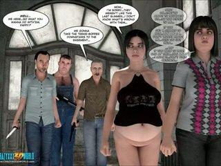 groupsex, bbw, karikatūra