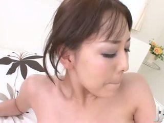 Akari Asagiris tight pink pussy