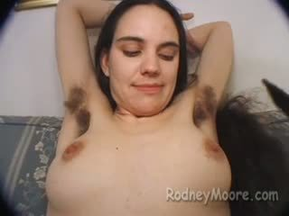 Classic Rodney Moore with Becky Hairy Pussy and Armpits