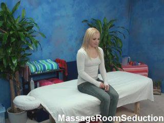 Alyssa Allured And Shaged By Her Massage Therapist Onto Hidden Camera