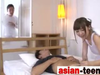 Asian Angel Cosplay Blowjob