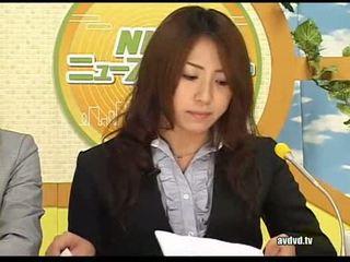 Japanilainen newsreaders ayumu sena ja fuuka minase squirting l