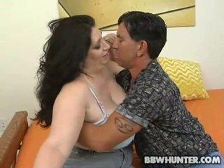 Fattie gets μουνί banged
